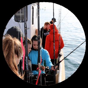 sea angling thumb